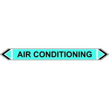 Spectrum Industrial Flow Marker - Air Conditioning (Light Blue - 5 pack)