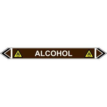 Spectrum Industrial Flow Marker - Alcohol (Brown - 5 Pack)