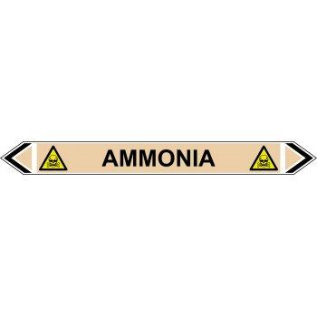 Spectrum Industrial Flow Marker - Ammonia (Yellow Ochre - 5 pack)