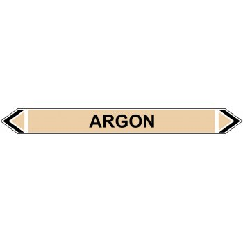 Spectrum Industrial Flow Marker - Argon (Yellow Ochre - 5 pack)