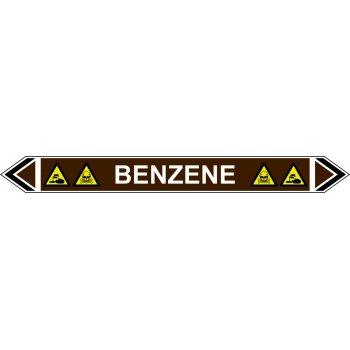 Spectrum Industrial Flow Marker - Benzene (Brown - 5 Pack)