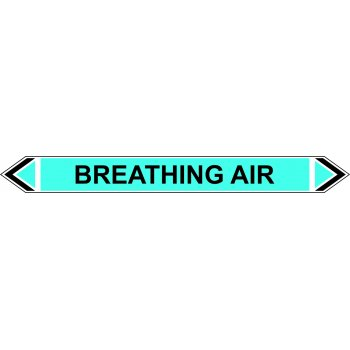Spectrum Industrial Flow Marker - Breathing Air (Light Blue - 5 pack)
