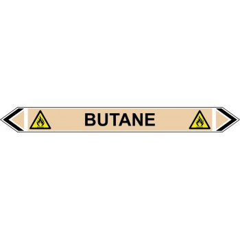 Spectrum Industrial Flow Marker - Butane (Yellow Ochre - 5 pack)