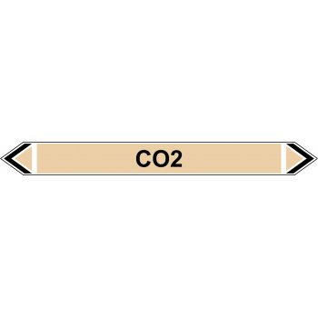 Spectrum Industrial Flow Marker - CO2 (Yellow Ochre - 5 pack)