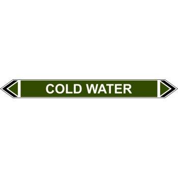 Spectrum Industrial Flow Marker - Cold Water (Green - 5 pack)