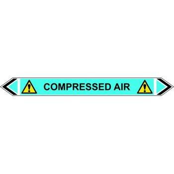 Spectrum Industrial Flow Marker - Compressed Air (Light Blue - 5 pack)