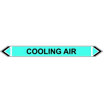 Spectrum Industrial Flow Marker - Cooling Air (Light Blue - 5 pack)