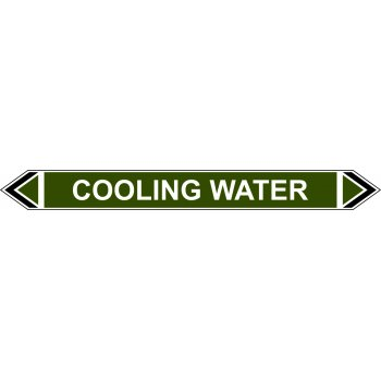 Spectrum Industrial Flow Marker - Cooling Water (Green - 5 pack)