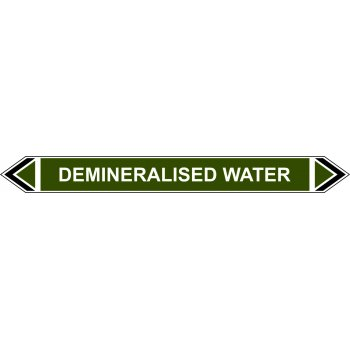 Spectrum Industrial Flow Marker - Demineralised Water (Green - 5 pack)