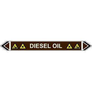 Spectrum Industrial Flow Marker - Diesel Oil (Brown - 5 Pack)