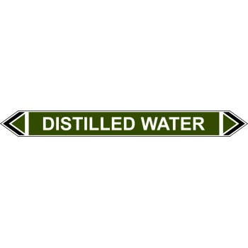 Spectrum Industrial Flow Marker - Distilled Water (Green - 5 pack)