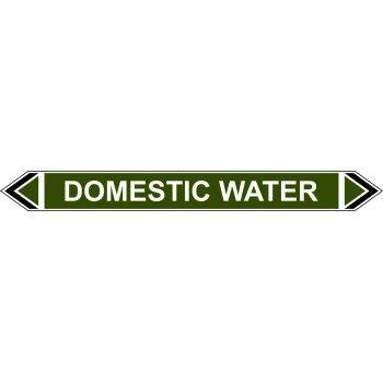 Spectrum Industrial Flow Marker - Domestic Water (Green - 5 pack)