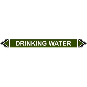 Spectrum Industrial Flow Marker - Drinking Water (Green - 5 pack)