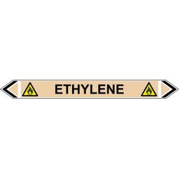 Spectrum Industrial Flow Marker - Ethylene (Yellow Ochre - 5 pack)