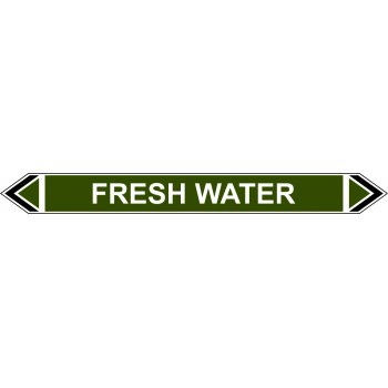 Spectrum Industrial Flow Marker - Fresh Water (Green - 5 pack)