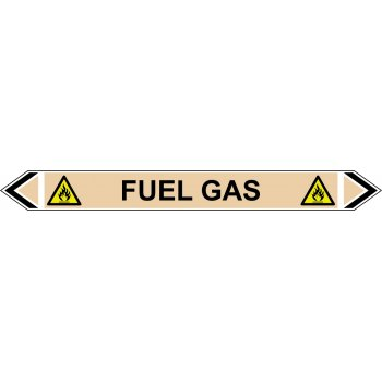 Spectrum Industrial Flow Marker - Fuel Gas (Yellow Ochre - 5 pack)