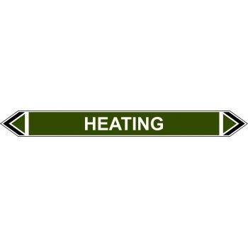 Spectrum Industrial Flow Marker - Heating (Green - 5 pack)