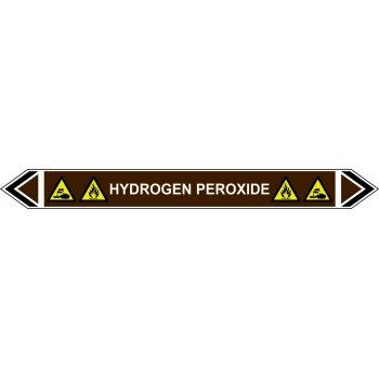 Spectrum Industrial Flow Marker - Hydrogen Peroxide (Brown - 5 Pack)