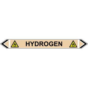 Spectrum Industrial Flow Marker - Hydrogen (Yellow Ochre - 5 pack)