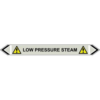Spectrum Industrial Flow Marker - Low Pressure Steam (Grey - 5 pack)