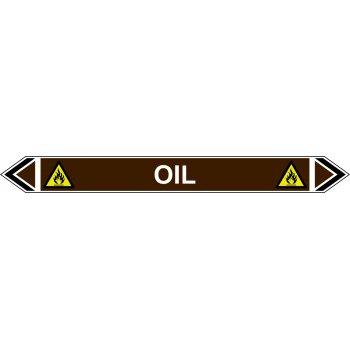 Spectrum Industrial Flow Marker - Oil (Brown - 5 Pack)