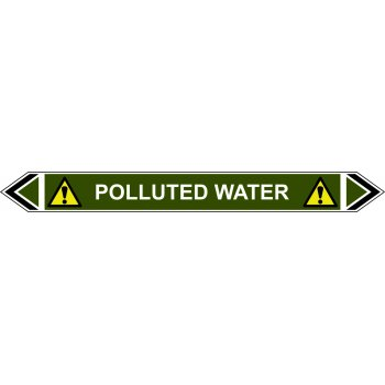 Spectrum Industrial Flow Marker - Polluted Water (Green - 5 pack)