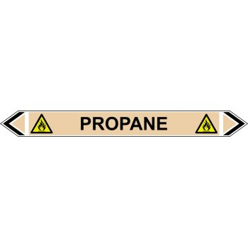 Spectrum Industrial Flow Marker - Propane (Yellow Ochre - 5 pack)