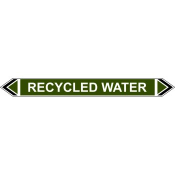 Spectrum Industrial Flow Marker - Recycled Water (Green - 5 pack)
