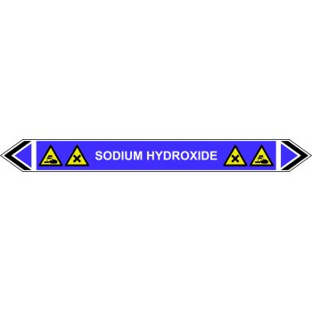 Spectrum Industrial Flow Marker - Sodium Hydroxide (Violet - 5 pack)