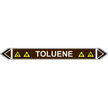 Spectrum Industrial Flow Marker - Toluene (Brown - 5 Pack)