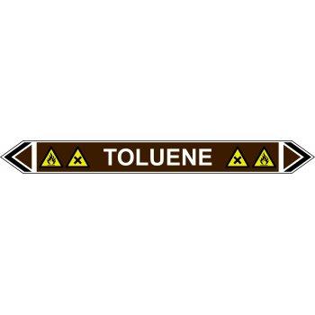 Spectrum Industrial Flow Marker - Toluene (Brown - 5 Pack)