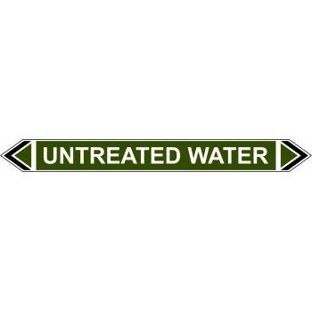 Spectrum Industrial Flow Marker - Untreated Water (Green - 5 pack)