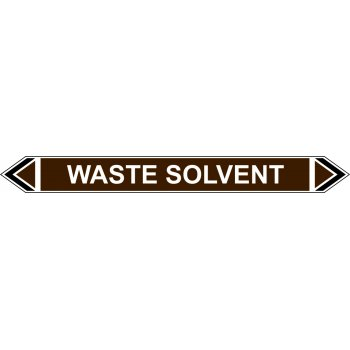 Spectrum Industrial Flow Marker - Waste Solvent (Brown - 5 Pack)