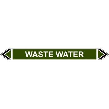 Spectrum Industrial Flow Marker - Waste Water (Green - 5 pack)