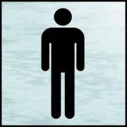 Gentlemen symbol - BRS (120 x 122mm)