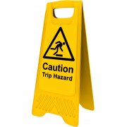 Heavy Duty A-Board - 'Caution Trip hazard