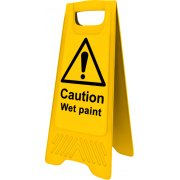 Heavy Duty A-Board - 'Caution Wet Paint'