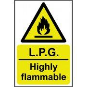 LPG Highly flammable - SAV (400 x 600mm)