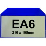 Magnetic Document Pocket - EA6 Horizontal