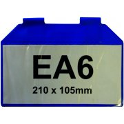 Magnetic Wrap-Round Document Pocket - EA6 Horizontal