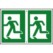Man running left - PVC (300 x 200mm)