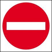 No entry (symbol) - FMX (400 x 400mm)