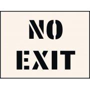 No Exit Stencil (600 x 800mm)