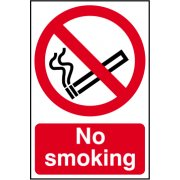 No smoking - CLG (100 x 150mm)