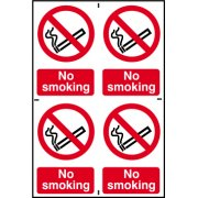 No smoking - PVC (200 x 300mm)