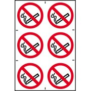 No smoking symbols - PVC (200 x 300mm)