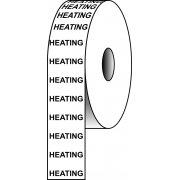 Pipeline Tape - HEATING (50mm x 33m)