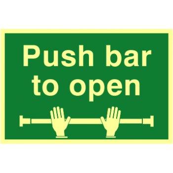 Spectrum Industrial Push bar to open - PHO (300 x 200mm)