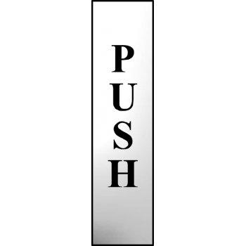Spectrum Industrial Push (vertical) - CHR (200 x 50mm)