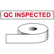 QC Inspected - printed tape (50mm x 66m)